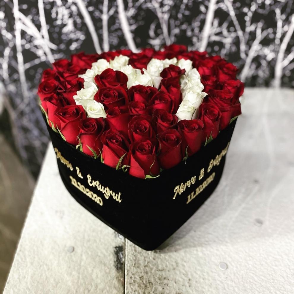 kalp kutuda aşkınızın baş harfi