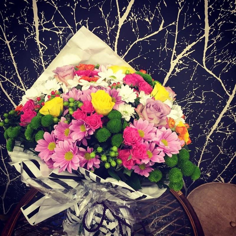 kır çiçeği demeti