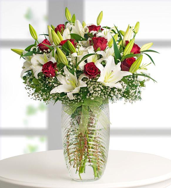 mis kokulu lilyum ve güller