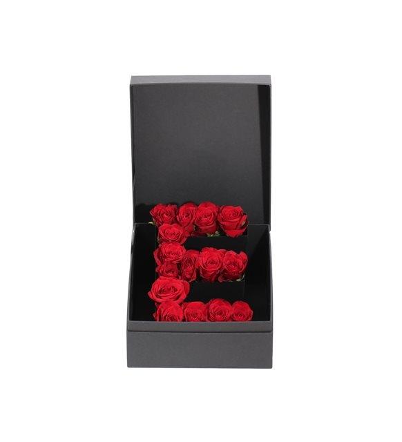 kutu içersinde aşkınızın baş harfi